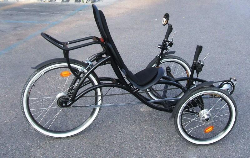 Il triciclo per gli adulti il progettista industriale for Come costruire un telaio a buon mercato