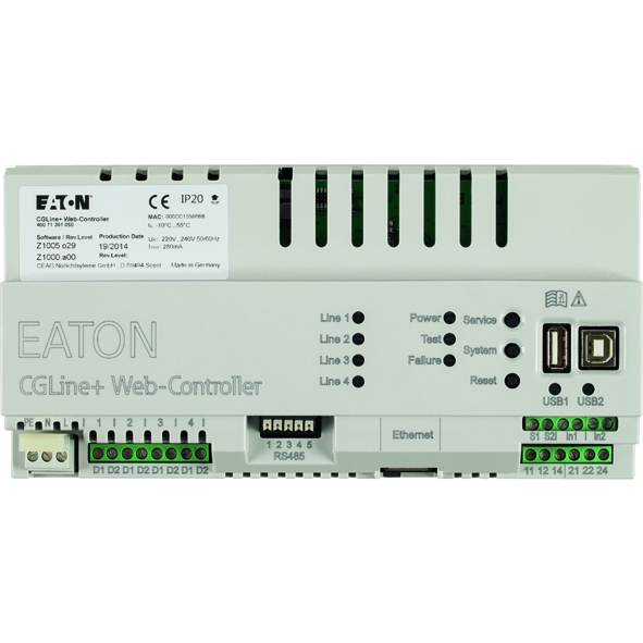 Eaton presenta il sistema cgline per il monitoraggio for Apparecchi di illuminazione per bungalow