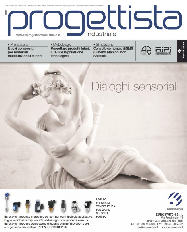 Il numero di maggio de il progettista industriale online for Progettista di garage online