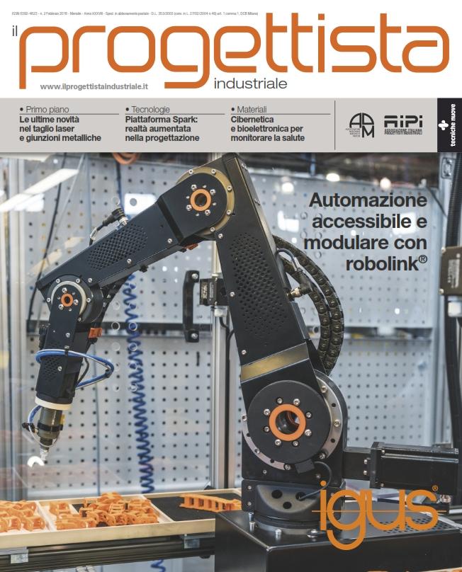 Il numero di febbraio de il progettista industriale for Progettista di garage online