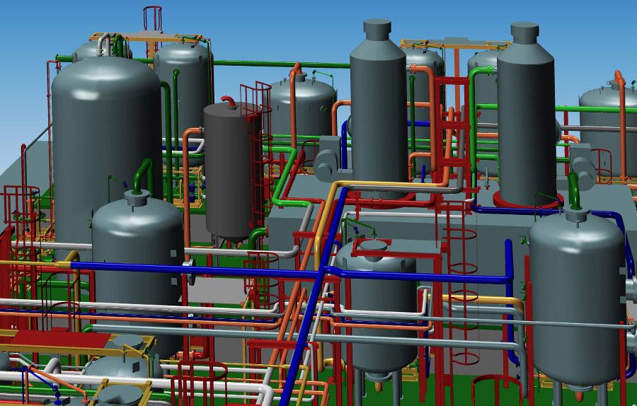 Progettare impianti in 3d e presentarli ai clienti in modo for Progetto software