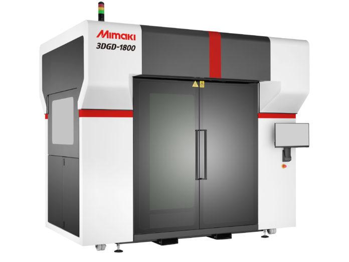 La nuova stampante Mimaki 3DGD-1800