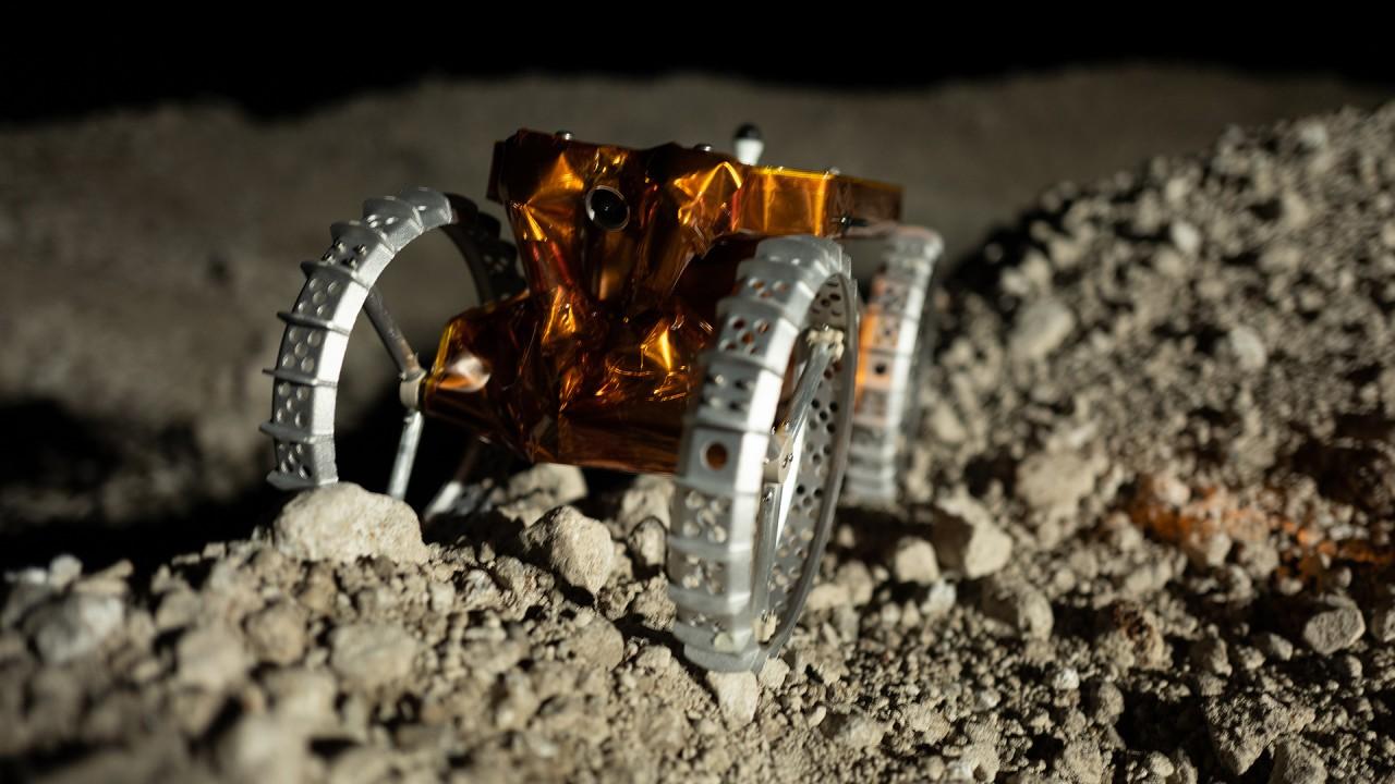 Mini robot lunari