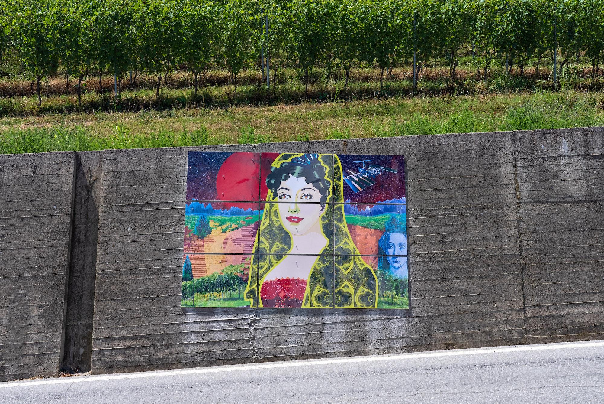 Barolo Wall
