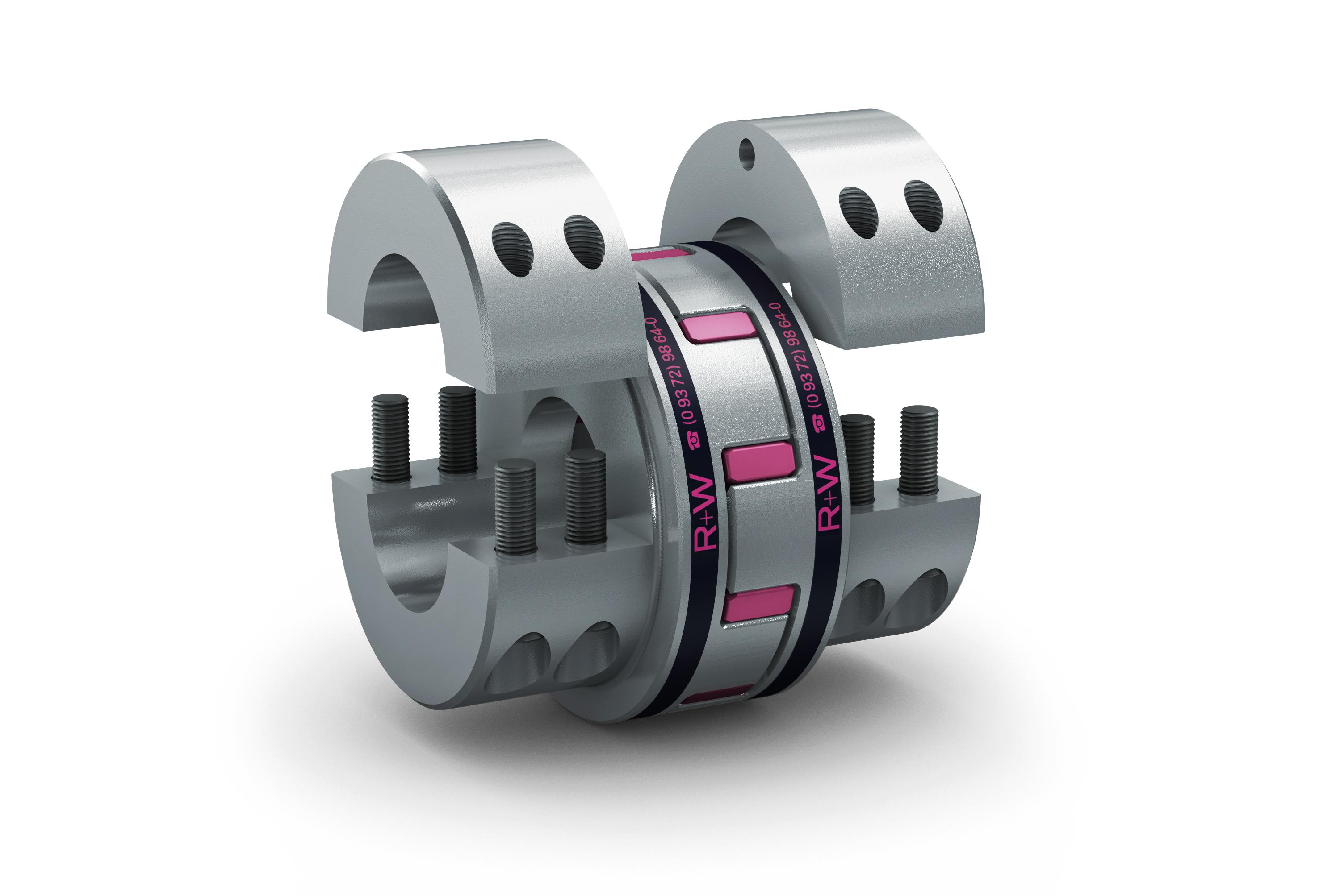 Servopompe e compressori - gruppo-giunti-EK-R+W
