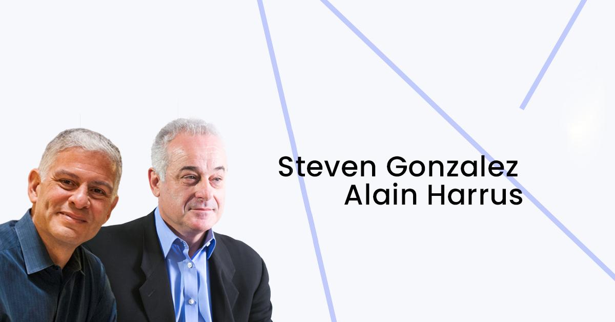 Steven Gonzales e Alain Harrus